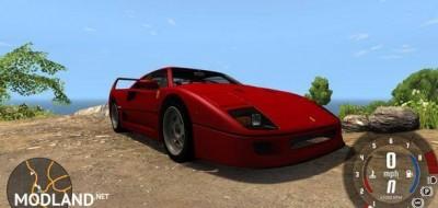 Ferrari F40 Car Mod [0.5.6], 4 photo